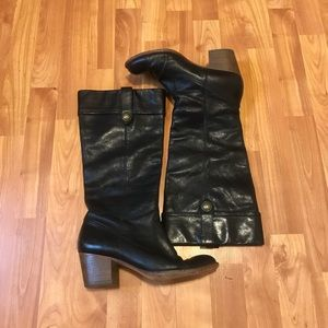 Coach Fayth Leather Boots